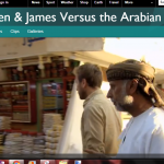 Capture James and Ben versus the Arabian Desert