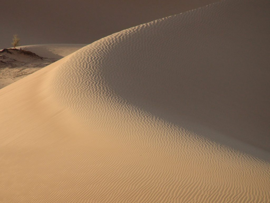 Longing for solitude, stillness, silence, Than is the Rub al Khali, the quarter of emptiness, your place …